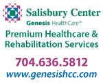 genesis healthcare salibury center nc