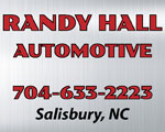 randy hall automotive salisbury nc
