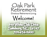 oak park retirement community salisbury nc
