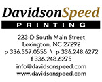 davidson speed printng lexington nc