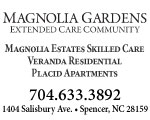 magnolia gardens extended care spencer nc
