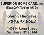 superior home care salisbury nc